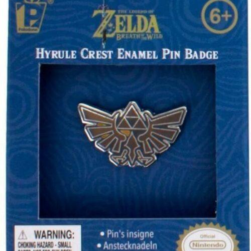 Legend of Zelda: Breath of the Wild – Hyrule Crest Enamel Pin Badge