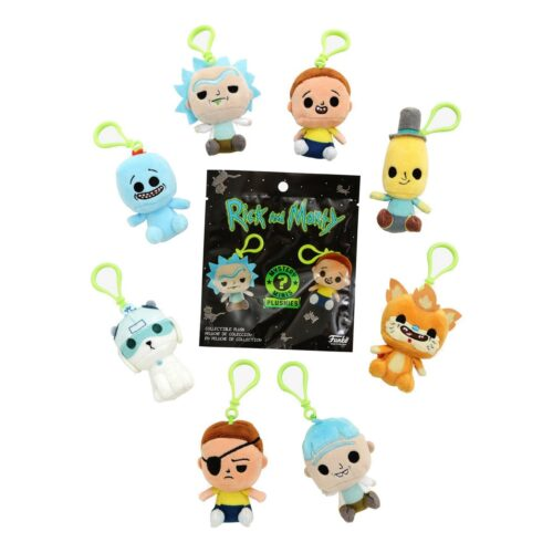 Mystery Minis: Rick and Morty – Collectible Plushes Blind Bag