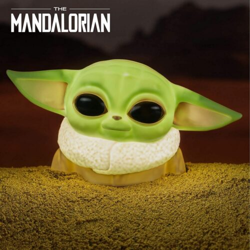 Star Wars: The Mandalorian – The Child (Baby Yoda) Desktop Light, 12cm