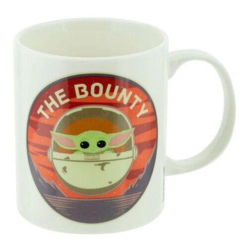Gift Set: Star Wars: The Mandalorian – The Child (Baby Yoda) Sock and Mug, 300ml/Size 41-46 EU