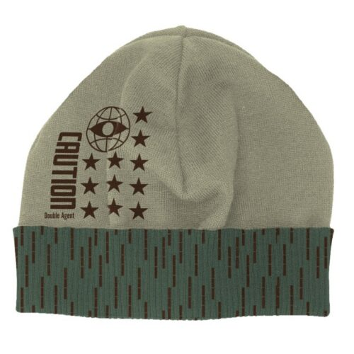 Beanie: Call of Duty: Black Ops Cold War – Double Agent, Green/Grey