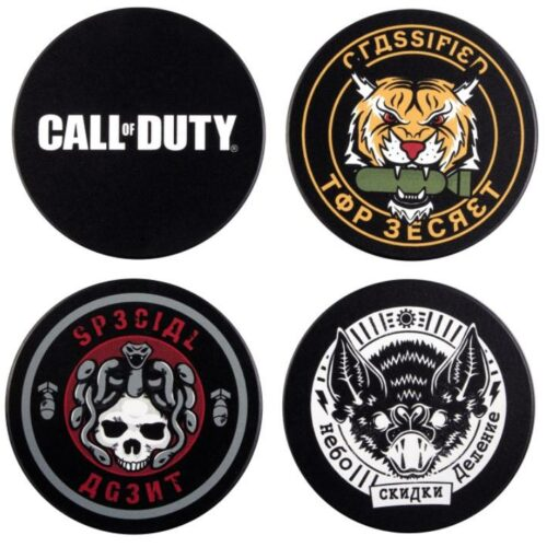Call of Duty: Black Ops Cold War – Badge Coasters 4-Pack