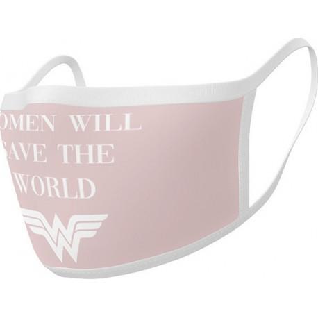 Face Mask 2-Pack: DC Comics – Wonder Woman Save The World