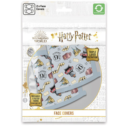 Face Mask 2-Pack: Harry Potter – Hogwarts Express