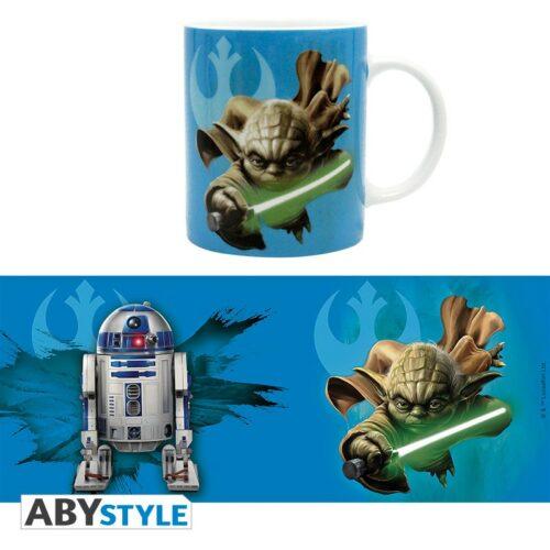 Star Wars – Yoda and R2-D2 Mug, 320ml