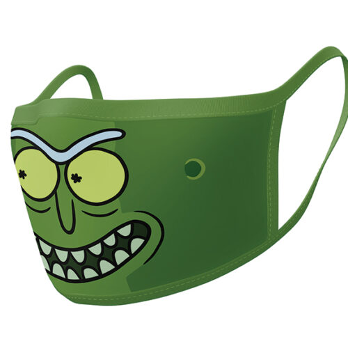 Face Mask 2-Pack: Rick and Morty – Pickle Rick
