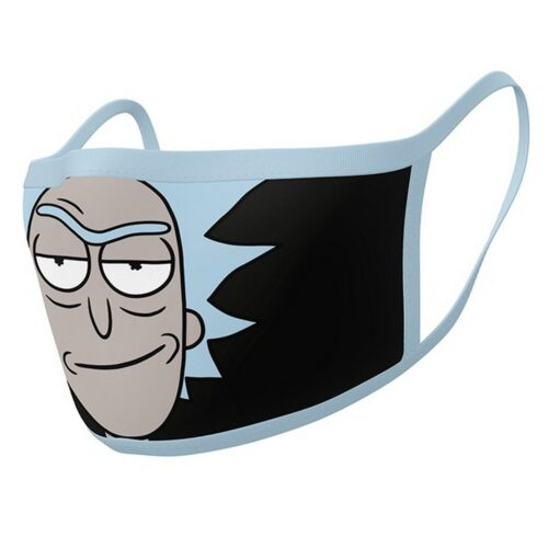 Face Mask 2-Pack: Rick and Morty – Rick