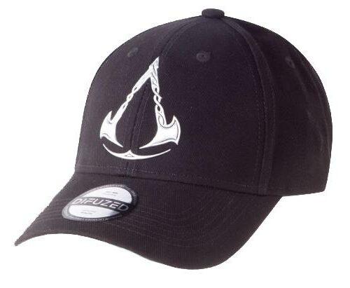 Baseball Cap: Assassin's Creed Valhalla – Silver Logo, Black