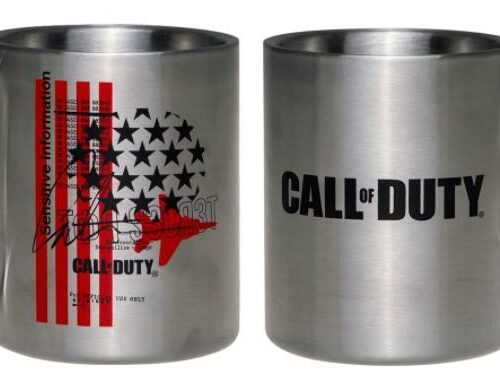 Call of Duty: Black Ops Cold War – Fly Over Metal Camping Mug, 300ml