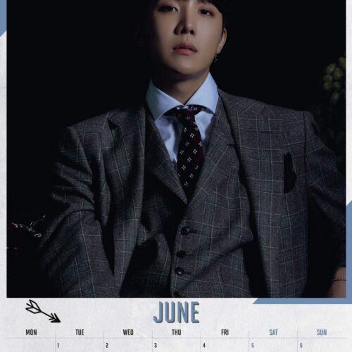 2021 Calendar – BTS, 30x40cm