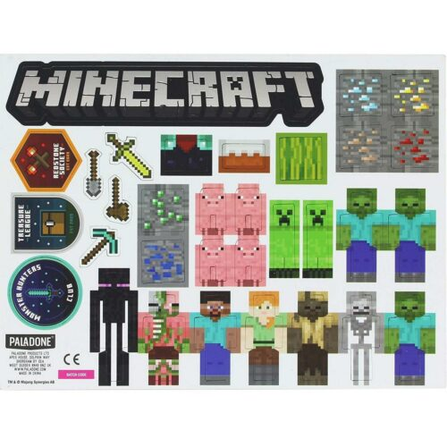 Minecraft – Build a Level Magnets, 80+ Pieces