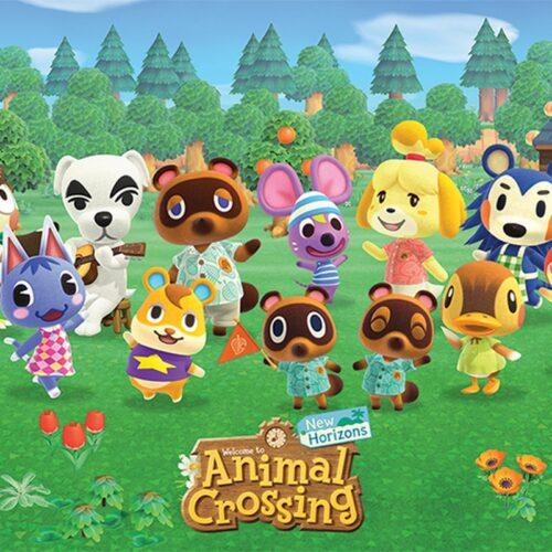 Poster Animal Crossing – Lineup, 61x91cm