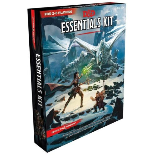 Dungeons & Dragons (D&D) – Essentials Kit, 5th Edition (English)