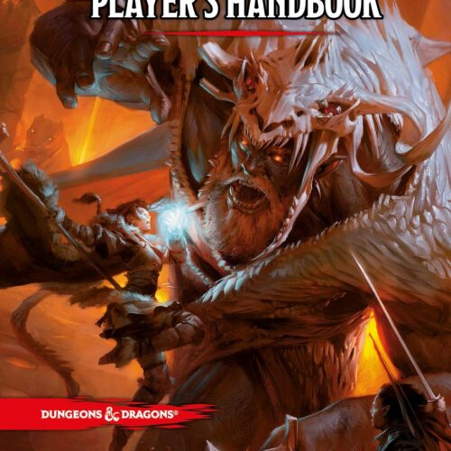 Dungeons & Dragons (D&D) – Player's Handbook, 5th Edition (English)