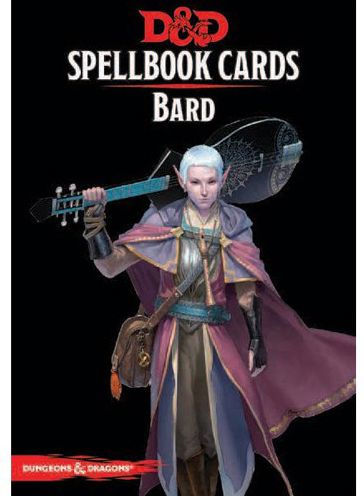 Dungeons & Dragons – 5th Edition – Spell Deck Bard (128 cards) (D&D)