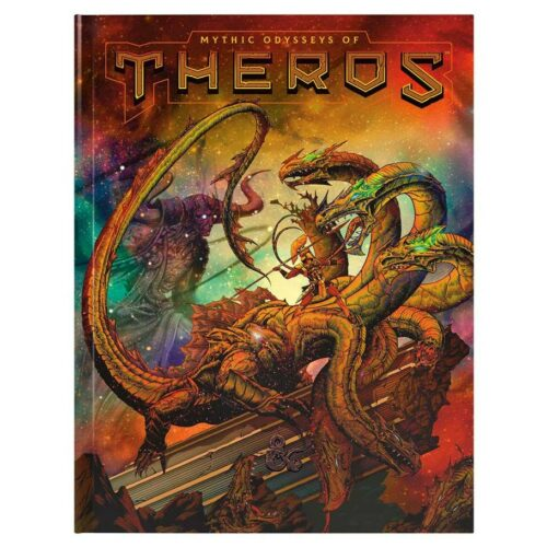 Dungeons & Dragons – 5th Edition – Mythic Odysseys of Theros (Alternate Cover) (D&D)