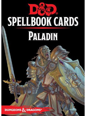 Dungeons & Dragons – 5th Edition – Spell Deck Paladin (69 cards) (D&D) (English)