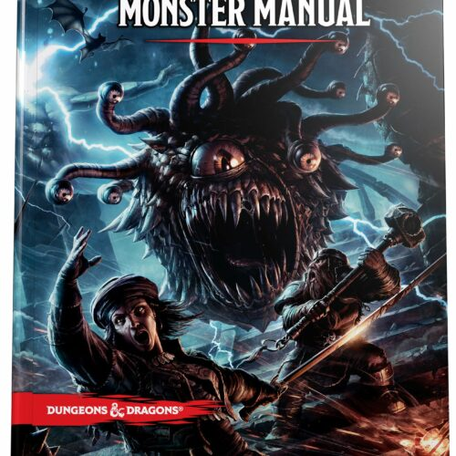 Dungeons & Dragons – Monster Manual 5th Edition (D&D)