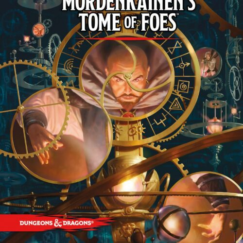 Dungeons & Dragons – Role Play – 5th Edition MordenkainenĀ´s Tome of Foes (English)