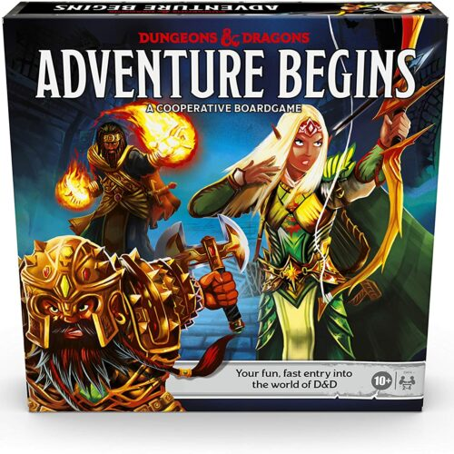 Dungeons and Dragons – Adventure Begins Boardgame (D&D) (English)