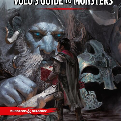 Dungeons & Dragons – Role Play – 5th Edition VoloĀ´s Guide to Monsters (D&D) (English)