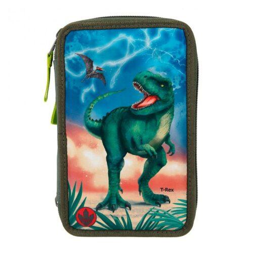 Dino World – Trippel Pencil Case w/LED