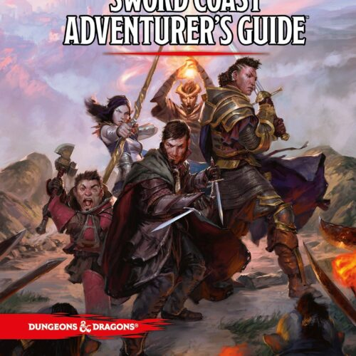 Dungeons & Dragons – Role Play – 5th Edition Sword Coast Adventurer's Guide (D&D)