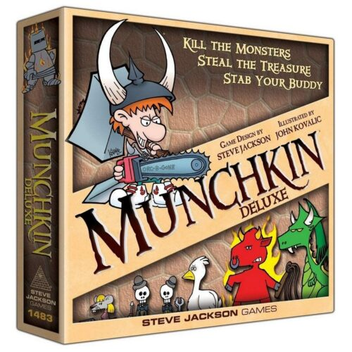 Munchkin Deluxe – Board Game (English)