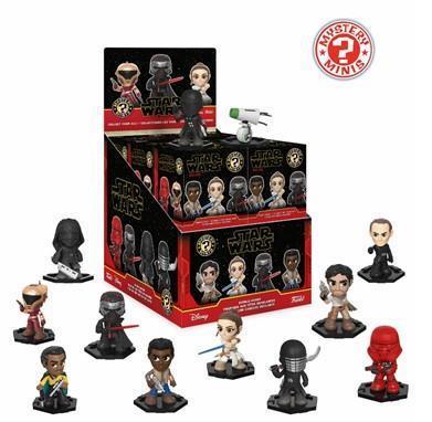 Funko Mystery MInis: Star Wars Ep 9 Mini Figures (1 piece) Bobble-Head Figures