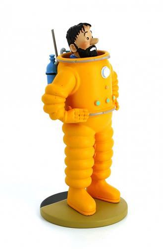 Tintin: Haddock Cosmonaut Statue, 25cm