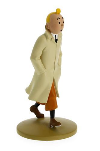 Tintin: Tintin walking coat  Statue, 12cm