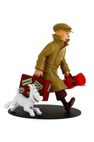 Tintin: Tintin and Snowy ils arrivent !! Statue, 25cm