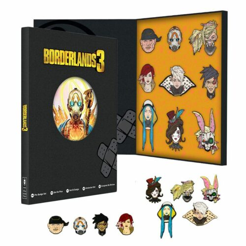 Borderlands 3 Collectors Pin Set