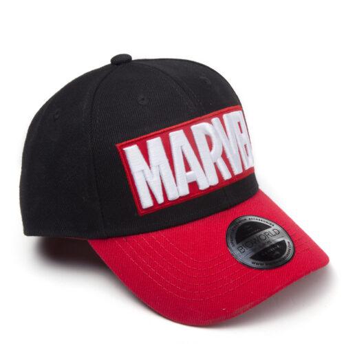 Marvel – Red Brick Logo Curved Bill Cap