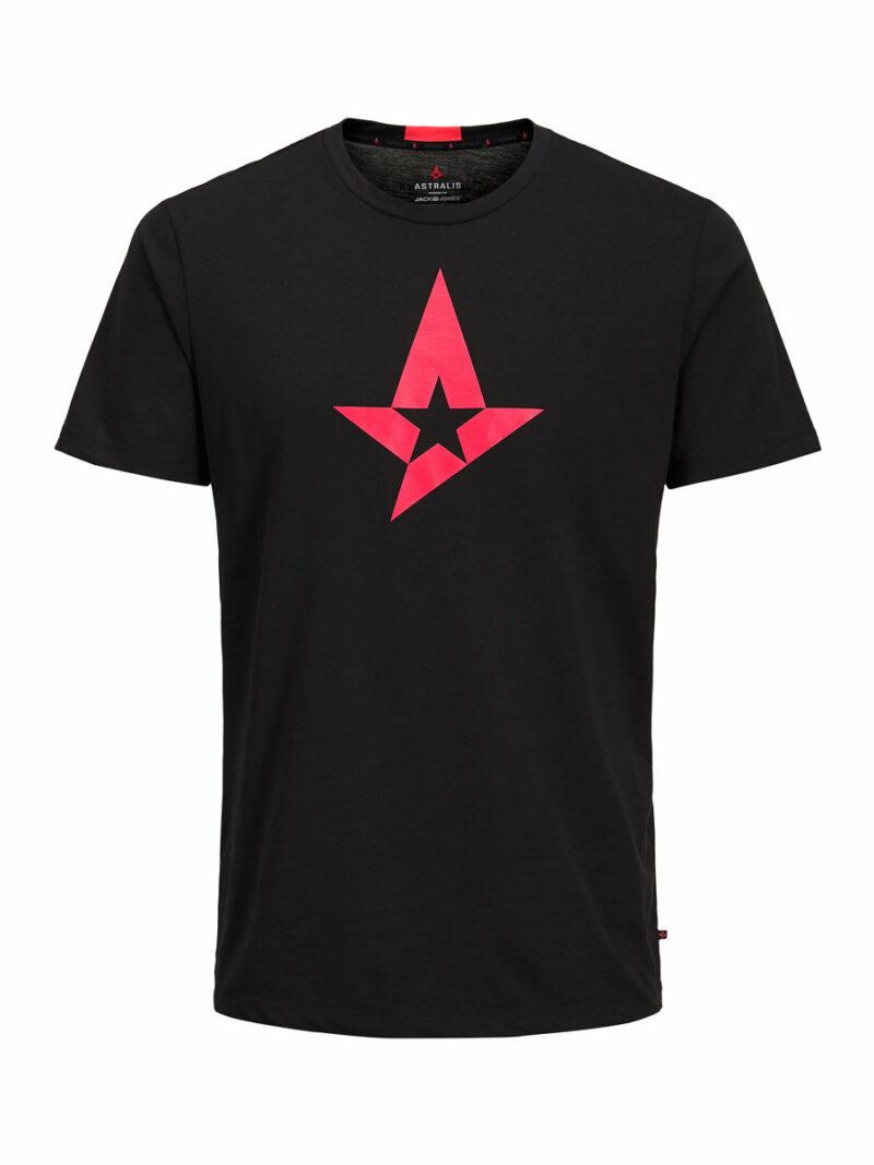 T-Shirt Astralis – Red Star, Black Size XXXL