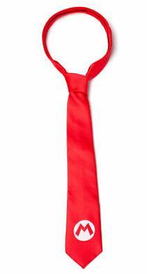Nintendo – Super Mario Badge Necktie