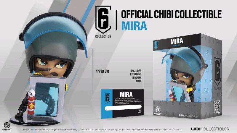 Ubi Collectibles: Six Collection – Mira Chibi Figurine, Series 6