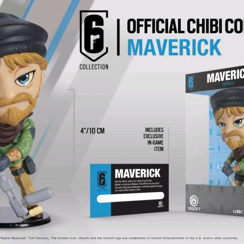 Ubi Collectibles: Six Collection – Maverick Chibi Figurine, Series 6