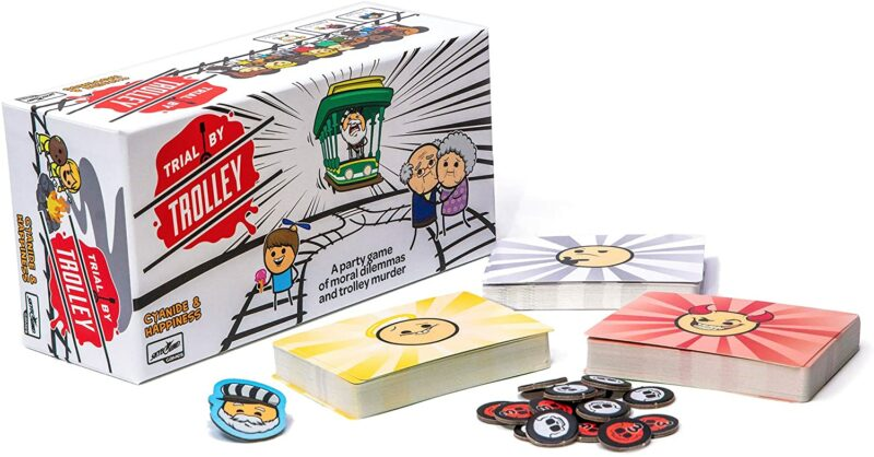 Trial by Trolley – Cyanide and Happiness Card Game (English)