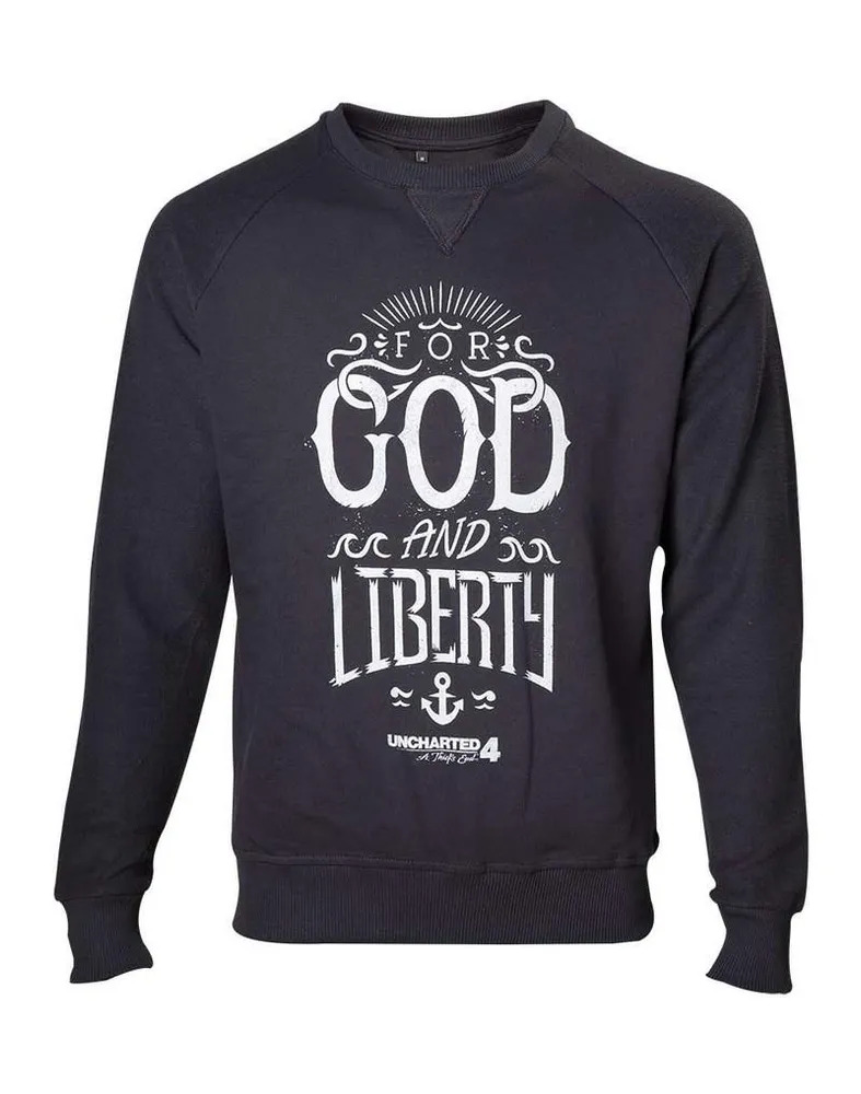 Uncharted 4 – For God And Liberty Sweater – Size M