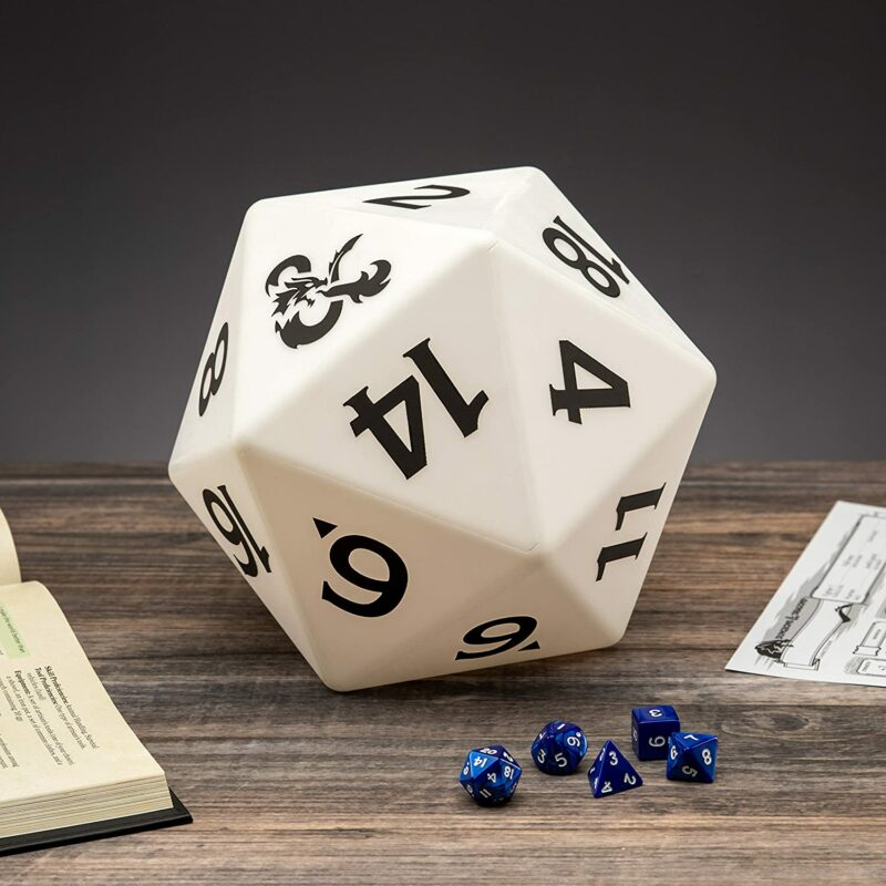 Dungeons  Dragons – D20 Dice Multi Color Light