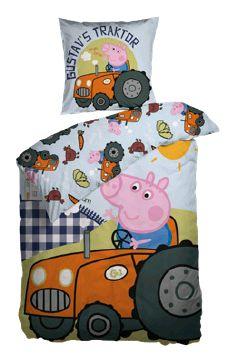 Bed Linen – Adult Size 140 x 200 cm – Geroge Pig