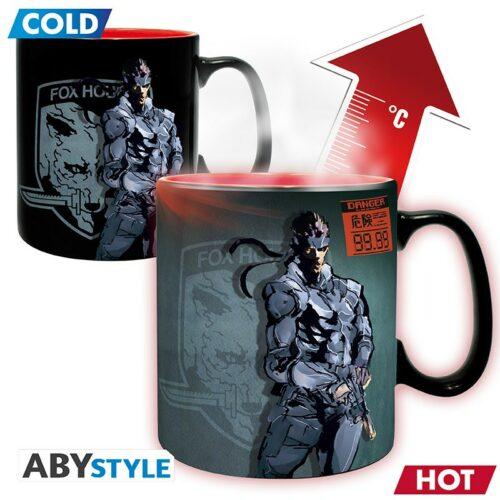 Metal Gear Solid – Solid Snake Heat Change Mug, 460ml