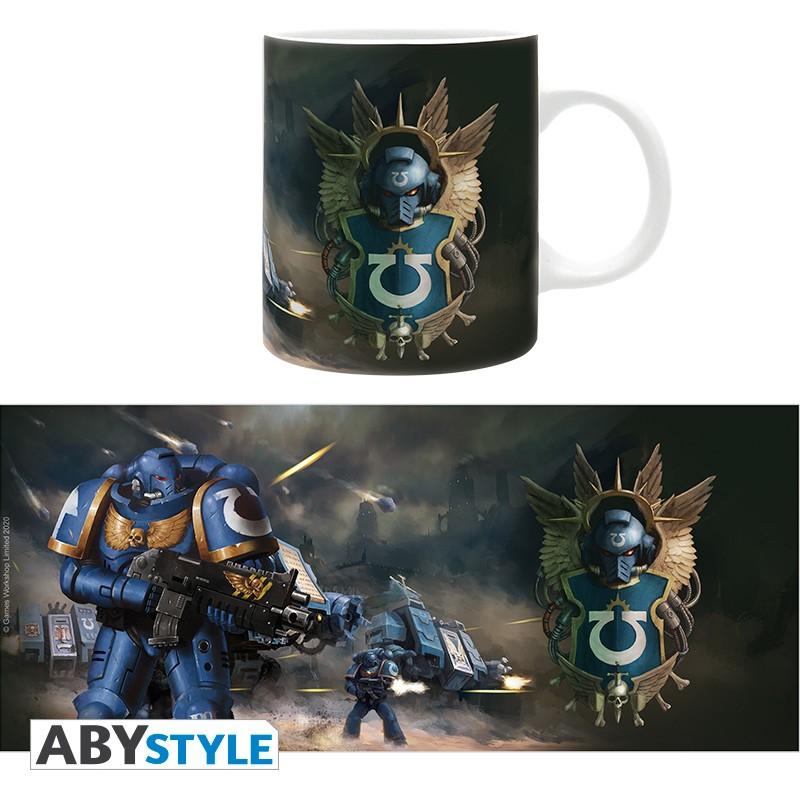 Warhammer 40,000 – Ultramarines Mug, 320ml