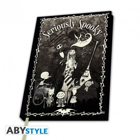 Notebook Nightmare Before Christmas – Seriously Spooky, Hardcover A5