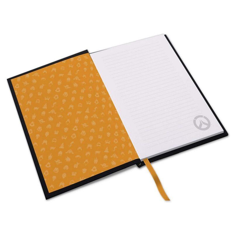 Notebook Overwatch – Logo, Hardcover A5