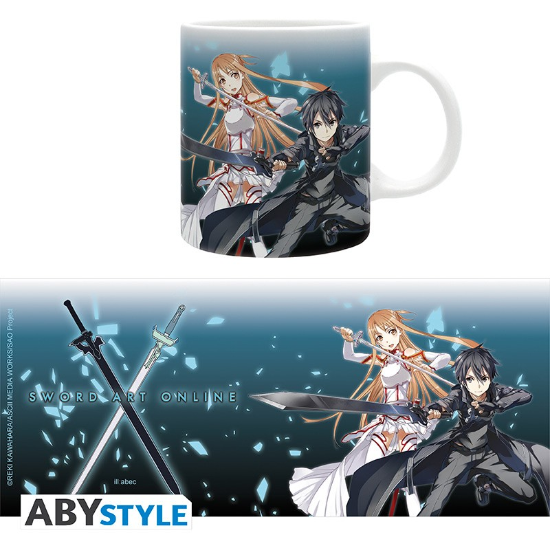 Sword Art Online – Asuna and Kirito Mug, 320ml