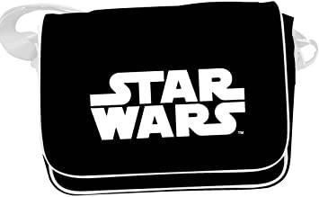 Star Wars – White Logo Messenger Bag