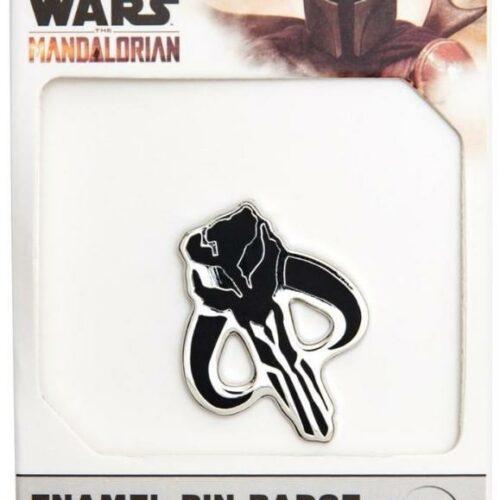 Star Wars: The Mandalorian – Logo Enamel Pin Badge