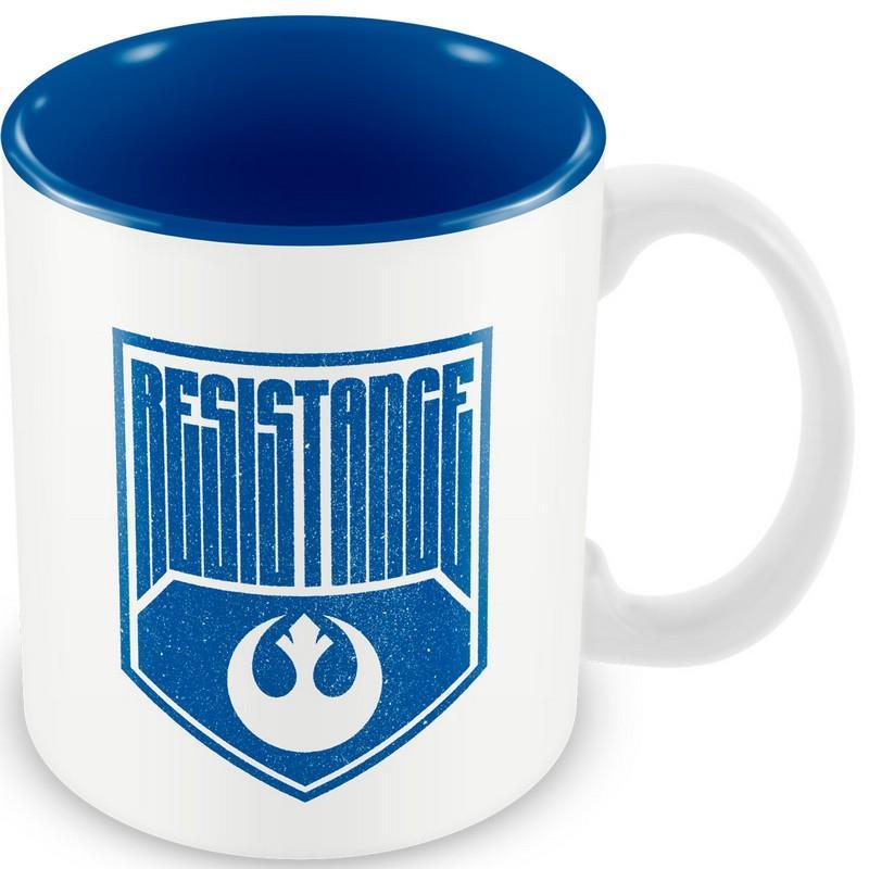 Star Wars – Resistance Logo mug, White/Blue